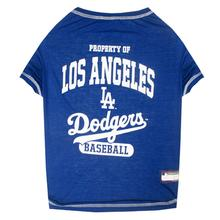 Los Angeles Dodgers Dog T-Shirt - Blue