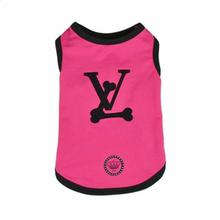 Love Bone Dog Tank by Dogs of Glamour - Pink