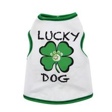 Lucky Dog Tank by I See Spot - White
