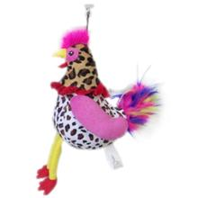 Lulubelles Power Plush Dog Toy - Miss Clucky