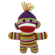 Lulubelles Power Plush - Lala Sock Monkey Baby