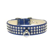 Manhattan Crystal Ice Cream Dog Collar - Blue