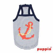 Mariner Dog Tank by Puppia - Navy