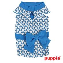 Martina Dog Dress by Puppia - Blue