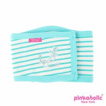 Matelot Dog Manner Band by Pinkaholic - Aqua