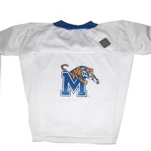 Memphis Tigers Dog Jersey - White