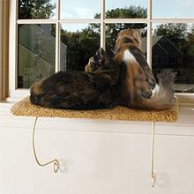 Meow Town Kitty Catnapper Cat Window Perch