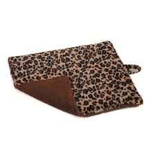Meow Town Thermal Cat Mat - Brown Leopard