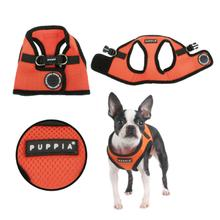 Mesh Soft Harness Vest by Puppia - Orange