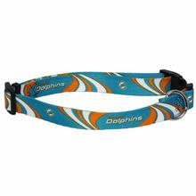 Miami Dolphins Dog Collar - Miami Dolphins