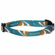 Miami Dolphins Dog Collar - Miami Dolphins