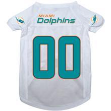 Miami Dolphins Dog Jersey - Miami Dolphins White