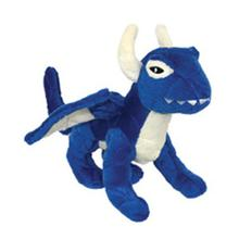 Mighty Dragon Dog Toy - Blue