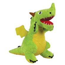 Mighty Dragon Dog Toy - Green