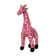 Mighty Safari Dog Toy - Gina the Pink Giraffe