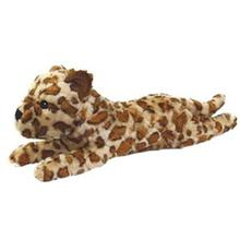 Mighty Safari Dog Toy - Lenny the Leopard