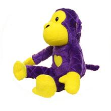 Mighty Safari Dog Toy - Morty the Purple Monkey