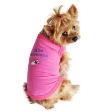 Miss Chevious Designer Dog Tank