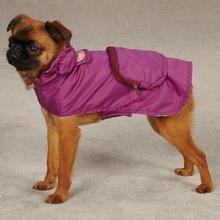 Monkey Business Stowaway Dog Rain Jacket - Tiff