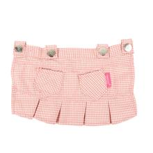 Motley Dog Skirt by Pinkaholic - Pink