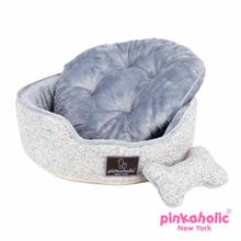 Muffy Dog Bed by Pinkaholic - Mellange Gray