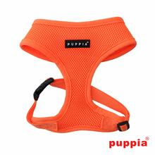 Neon Soft Adjustable Dog Harness by Puppia - Orange