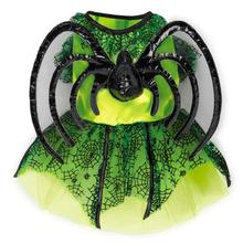 Neon Spider Princess Halloween Dog Costume