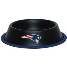 New England Patriots Dog Bowl - Black