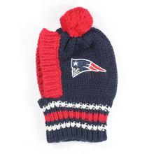 New England Patriots  Knit Dog Hat