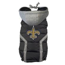 New Orleans Saints Dog Puffer Vest