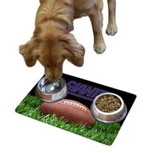New York Giants Pet Bowl Mat