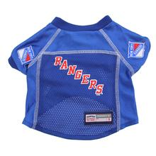 New York Rangers Dog Jersey - Blue