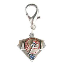 New York Yankees Pennant Dog Collar Charm