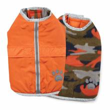 Nor'easter Dog Blanket Coat - Orange