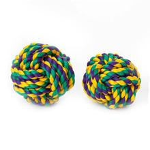 Nuts for Knots Ball Dog Toy