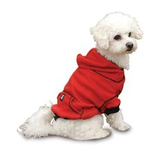 On-the-Go Thermal Dog Hoodie - Red