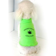 Organically Grown Dog Tank by Daisy and Lucy - Lime Green