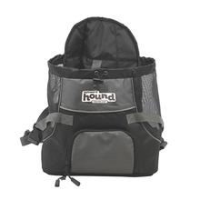 Outward Hound Pooch Pouch Front Carrier - Gray and Black