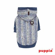 Oz Hooded Dog Shirt by Puppia - Blue
