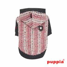 Oz Hooded Dog Shirt by Puppia - Gray