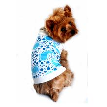 Paisley Dog Tank by Doggie Design - Blue