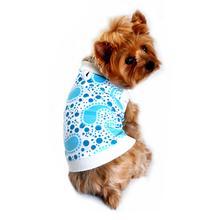 Paisley Dog Tank by Doggie Design - Blue