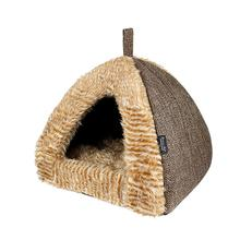 Parisian Pet Cabana Dog House - Brown