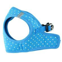 Parisian Pet Polka Dot Dog Harness - Blue