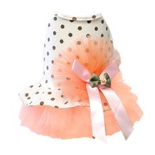 Parisian Pet Salmon Tutu Dog Dress