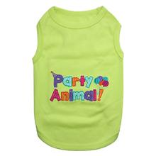 Party Animal Dog Tank by Parisian Pet - Green