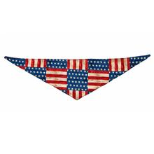 Patriotic Pet Line Dog Bandana by Push Pushi - U.S. Flags