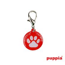 Paw Smart Tag Pet ID by Puppia - Red