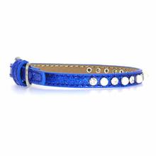 Pearl and Jewel Ice Cream Collar - Blue
