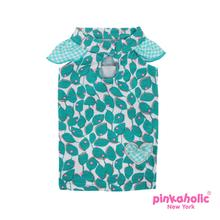 Peeps Dog Dress by Pinkaholic - Mint